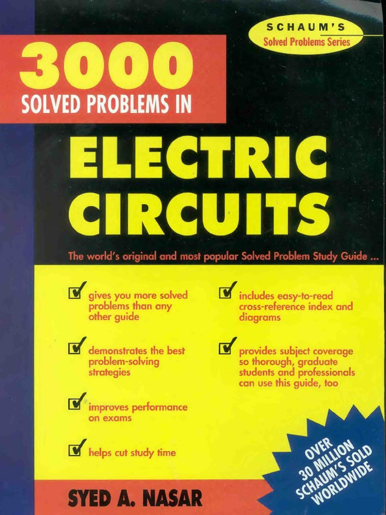 schaum series electric circuits solution manual