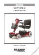 sapphire 2 mobility scooter manual