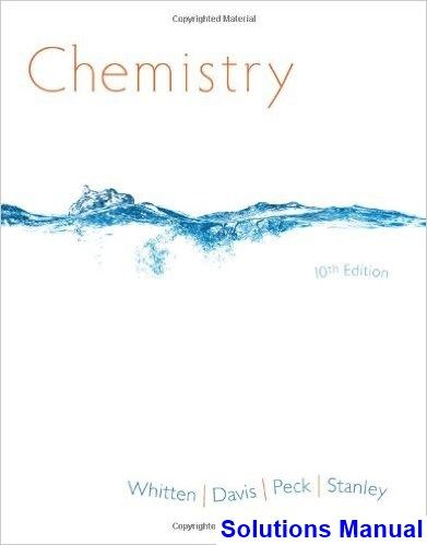 solutions manual for organic chemistry 10th edition